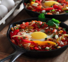 Link to baked eggs recipe